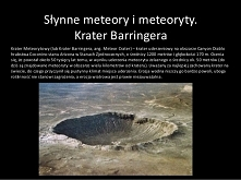 Krater Berringera,USA