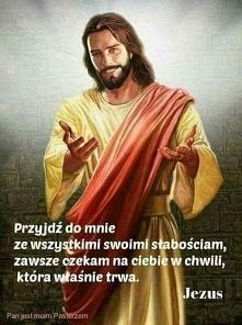 Jezus zawsze na nas czeka ♡