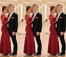 Szukasz sukienki na studniówkę ? Zapraszamy do nas !! :) Be lady - bordo od B...
