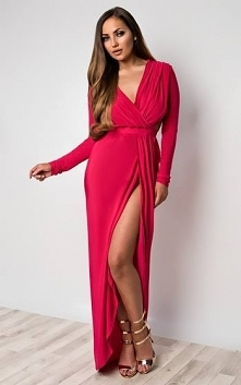 Sukienka Hanah (kolor fuksja) www sibysi pl