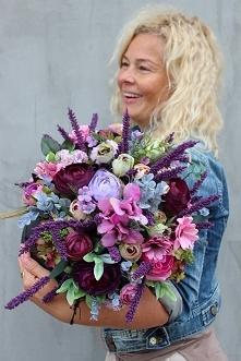 flower box z jesiennymi dek...
