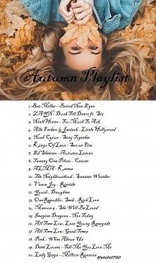 Autumn Playlist ♥