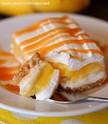 Ciasto z bananami i karmele...