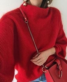 czerwony..