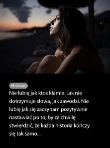 Nie lubię...