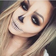make up idealny na halloween