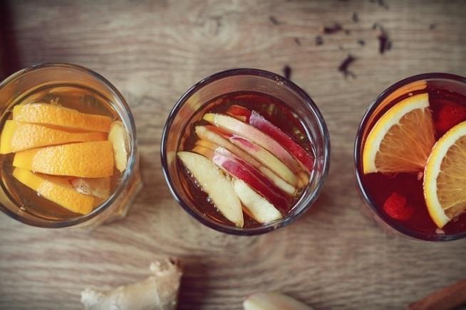 jesienne herbatki do wyboru do koloru. :) można je robić w nieskończoność zmieniając tylko dodatki. :)