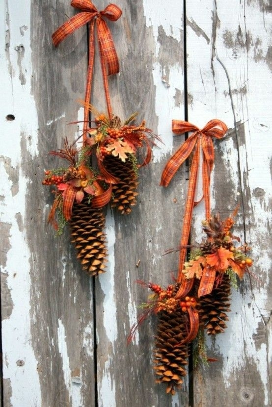 jesienna dekoracja :)
