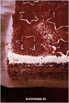 """Ciasto """"pijana śliwka"""" z nutellą i suszonymi"""