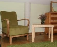 moja córka dostała nowy stary fotel do pokoju - sama odnowiłam:)