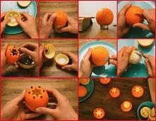 Pomaranczowa świeczka.