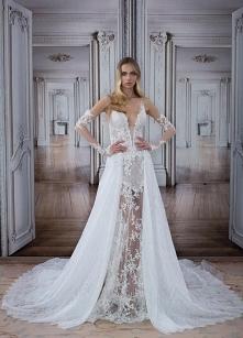 """Suknia ślubna Pnina Tornai""""Love"""" 2017. Założyły byście tak odważną suknię na swój ślub?"""