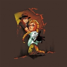 Mashup Krainy Lodu i Indiana Jones :D