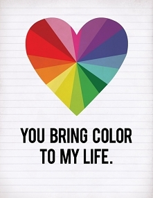 bring color to my life