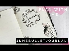 PLAN WITH ME | JUNE Bullet ...