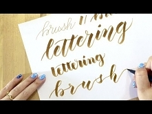 Brush Lettering Tips for Beginners