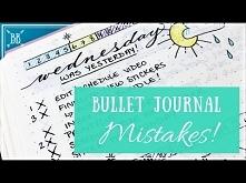 Bullet Journal Mistakes