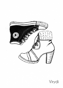 Day 8 - Shoes inktober