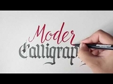 How to combine modern and traditional calligraphy styles