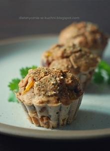 Fit muffiny z kurczakiem