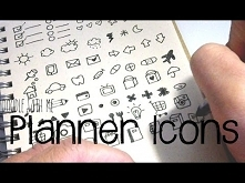 Cute and Easy Planner Icon ...