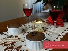 Przepis na: Lava cake (cias...