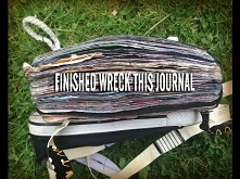 Finished WRECK THIS JOURNAL...