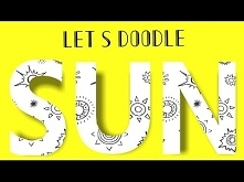 Easy Summer Doodles | 20+ ways to draw doodle suns | Doodle Tutorials | Design D Art