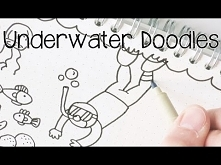 Draw Easy Underwater Doodles | Doodle with Me