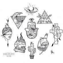 rysunki, a tatuaże