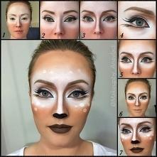 makeup na halloween