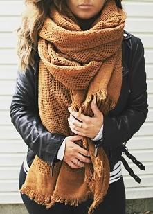 3 sposoby na modne noszenie szalika! - LINK W KOM!