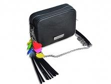 Skórzana torebka z blaszką_by modeMania