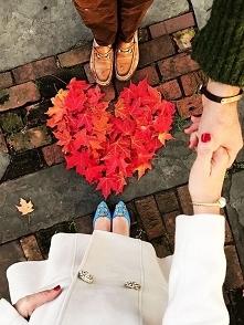 Autumn love ❤ Pomysłowe ujęcie