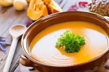 """Zupa krem z dyni """" Sprawdź, jak łatwo zrobić zupę dyniową na bulionie warzywnym, gęstą, puszystą, o konsystencji kremu. Oto sposób przygotowania"""" 1 dynia około 1,5 kg ..."""