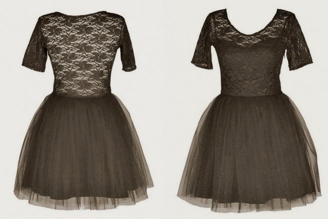 czarne sukienki ponadczasowy kolor :)