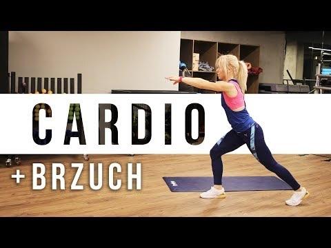 Trening CARDIO + BRZUCH | Codziennie Fit