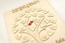 Ślubne nowości!  Na dobry początek – podziękowania dla rodziców w formie drze...