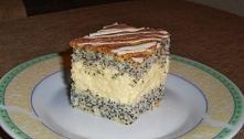 Mazurek makowo-kokosowy Składniki (blaszka 24x40 cm):  CIASTO:  10 białek  12...