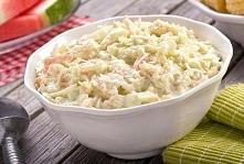 Sałatka coleslaw Składniki:...