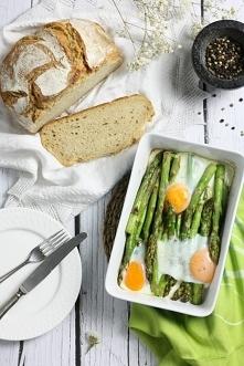 Szparagi zapiekane z jajkiem. Najprostszy i najlepszy przepis na szparagi. SK...