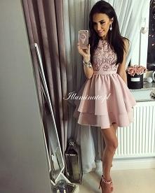 Cudowna pudrowa sukienka z kolekcji Illuminate <3