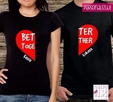 Komplet koszulek dla pary &...