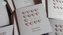 Zaproszenia ślubne z kolekcji Scarlet. --> facebook/zuzdesign