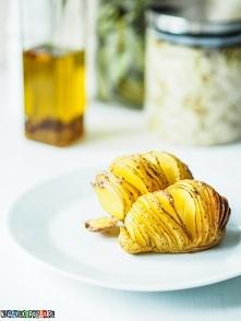 Przepis na ziemniaki nacinane, ziemniaki Hasselback