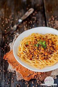 Wegetariańskie spaghetti z ...