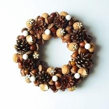 Wianek świąteczny, znajdziecie na   zielonamieta.dawanda.com