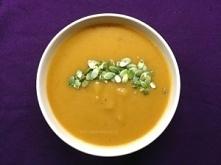 Zupa, krem z dyni. Idealna na jesienne obiady