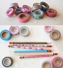Ołówki, kredki, długopisy t...