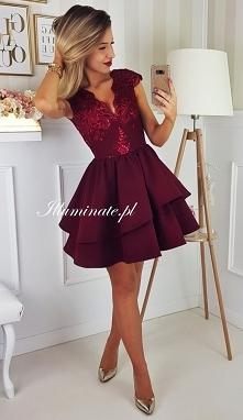 Cudowna sukienka w kolorze ...